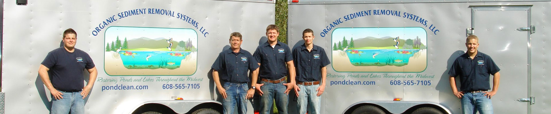 Pond Cleaning Services Team