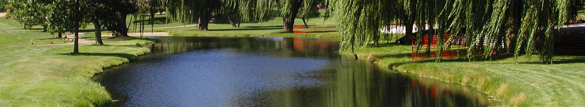 Golf Course Pond Cleaning